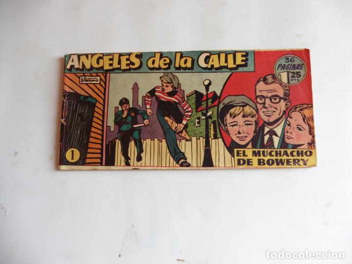 ANGELES DE LA CALLE Nº 1 HISPANOAMERICANA ORIGINAL (Tebeos y Cómics - Números 1)