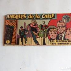 Tebeos: ANGELES DE LA CALLE Nº 1 HISPANOAMERICANA ORIGINAL. Lote 248142530