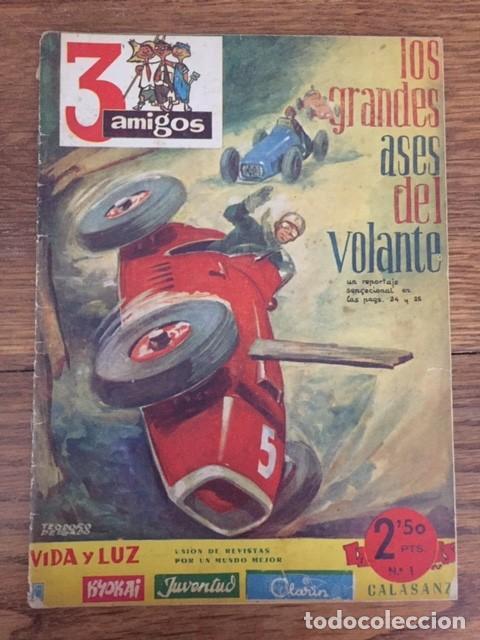 3 AMIGOS Nº 1 (PROPAGANDA POPULAR CATÓLICA, 1956) (Tebeos y Cómics - Números 1)