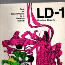 Livros de Banda Desenhada: LD LITERATURA DIBUJADA Nº 1. SUMMA-NUEVA VISION 1968. CONTIENE POSTER, VER DESCRIPCION..... Lote 248594465