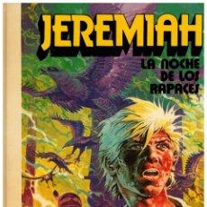Giornalini: JEREMIAH 1. -LA NOCHE DE LOS PAPACES- HERMANN. GRIJALBO 1980. CARTONÉ. NUEVO.. Lote 249232510
