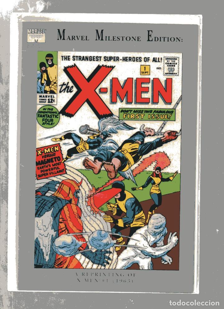 MARVEL MILESTONE X-MEN # 1 (1963-1993). JACK KIRBY. MAGNETO, FANTASTIC FOUR. INGLES (Tebeos y Cómics - Números 1)