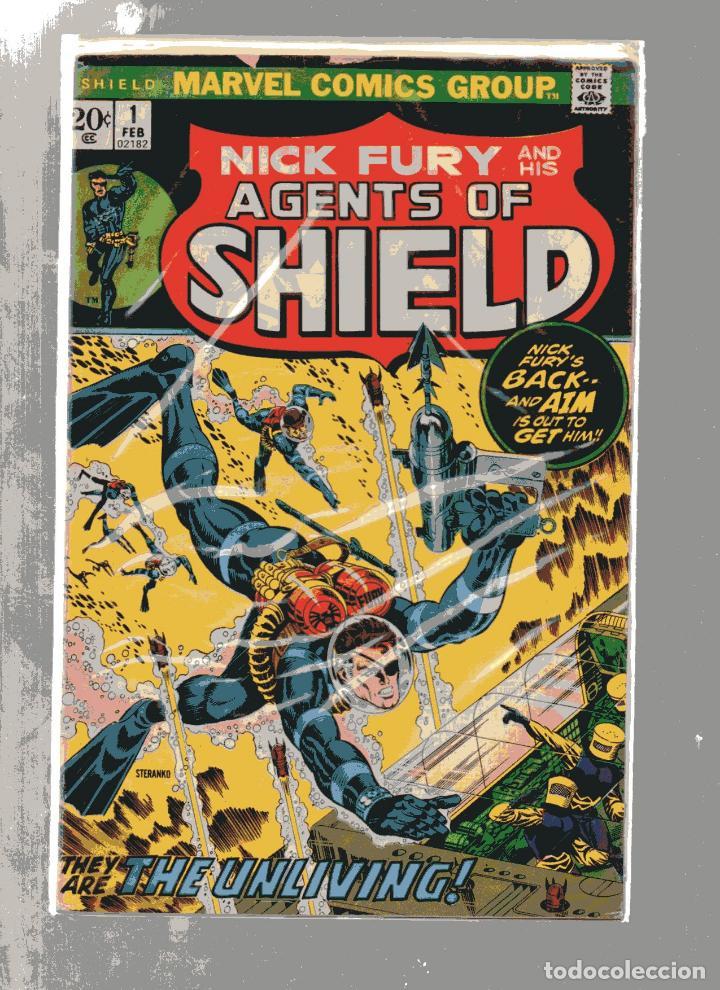 MARVEL NICK FURY AND HIS AGENTS OF SHIELD # 1 STERANKO. INGLES (Tebeos y Cómics - Números 1)