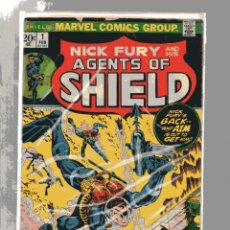 Tebeos: MARVEL NICK FURY AND HIS AGENTS OF SHIELD # 1 STERANKO. INGLES. Lote 251514180