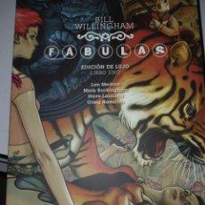 Tebeos: LIBRO COMIC TAPA DURA FABULAS EDICION DE LUJO LIBRO UNO DE BILL WILLINGHAM. Lote 251733735