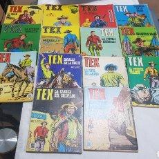 Tebeos: TEX - LOTE DE 14 TEBEOS N° 1-2-3-4-5-6-7-29- 31-32-37-38-41-42. Lote 254595660