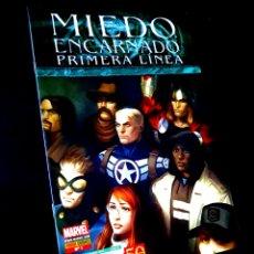 Tebeos: EXCELENTE ESTADO MIEDO ENCARNADO PRIMERA LINEA 1 COMICS PANINI MARVEL. Lote 254864200