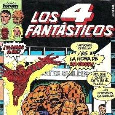 Tebeos: LOS 4 FANTÁSTICOS Nº 1 EDICIONES FORUM. Lote 254953215