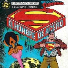 Tebeos: SUPERMAN, EL HOMBRE DE ACERO Nº 1 DE EDICIONES ZINCO. Lote 254954640