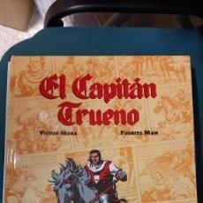 Tebeos: EL CAPITÁN TRUENO VOLUMEN 1, VÍCTOR MORA-FUENTES MAN DE EDICIONES B. Lote 254956195