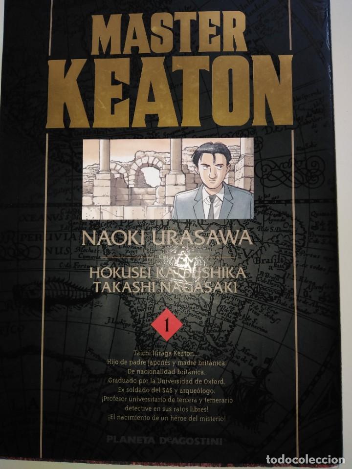 MASTER KEATON Nº1 NAOKI URASAWA (Tebeos y Cómics - Números 1)
