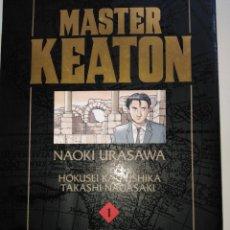 Tebeos: MASTER KEATON Nº1 NAOKI URASAWA. Lote 256130050