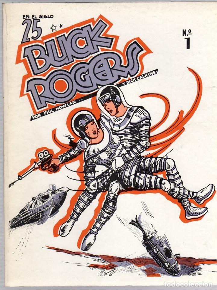 BUCK ROGERS. Nº 1. EN EL SIGLO 25. PHIL NOWLAN Y DICK CALKINS. 1979 (Tebeos y Cómics - Números 1)