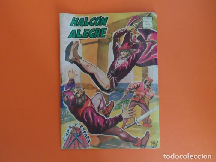 EL HALCON ALEGRE Nº 1 EDITORIAL GOGAR 1966 ORIGINAL POR MANUEL GAGO. (Tebeos y Cómics - Números 1)