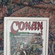 Livros de Banda Desenhada: CONAN: NOVELA GRAFICA N°1 DE ROY THOMAS Y BARRY WINDSOR SMITH. Lote 257580450