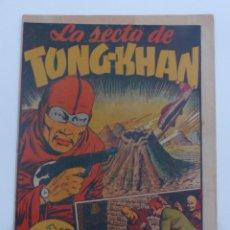 Tebeos: LA SECTA DE TONG-KHAN Ó TUNG-KHAN Nº 1 ÚNICO. MARCO 1943. FRCO HIDALGO, FRCO DARNIS. Lote 258757770
