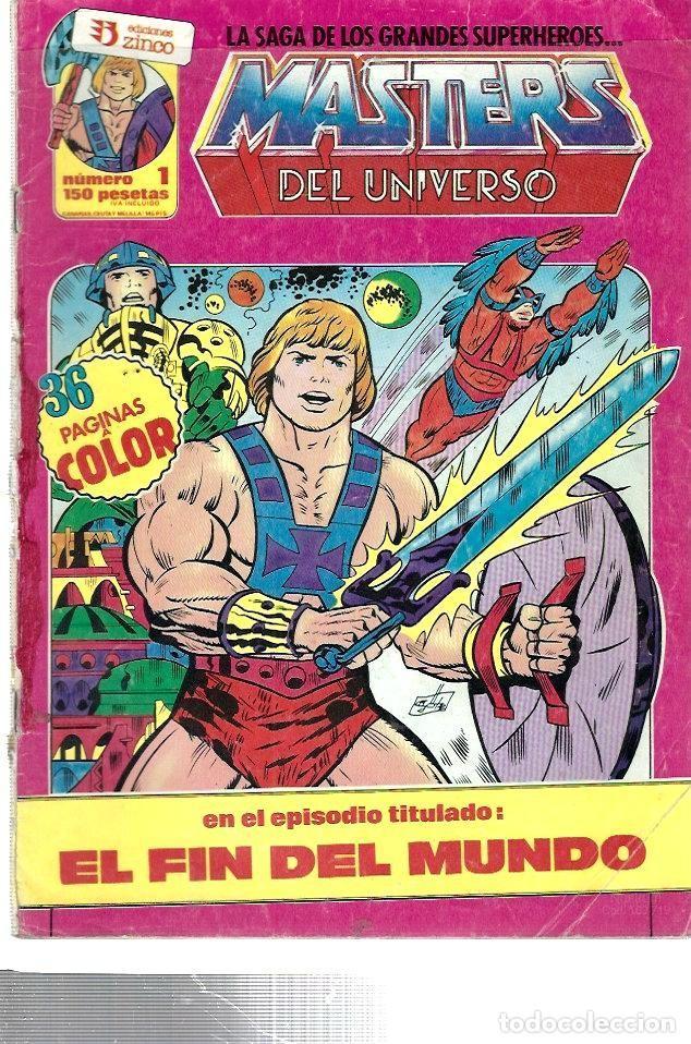 Nº 1 DE LOS MASTERS DEL UNIVERSO DE EDICIONES ZINCO (Tebeos y Cómics - Números 1)