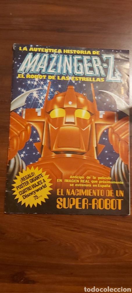 MAZINGER Z. EL ROBOT DE LAS ESTRELLAS 1. ANTICIPO PELÍCULA 1978 (Tebeos y Cómics - Números 1)