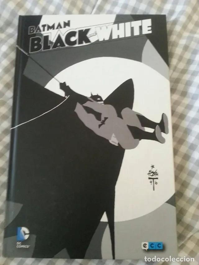 BATMAN BLACK AND WHITE VOL. 1 ECC MAS REGALO EL SUPERPODER MAS IMPORTANTE (Tebeos y Cómics - Números 1)