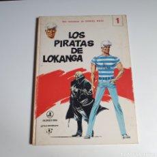 Tebeos: CÓMIC, DOS AVENTURAS DE DANIEL ROSS, NUM.1, LOS PIRATAS DE LOKANGA / EL GENERAL SATANÁS, JAIMES.. Lote 263128655