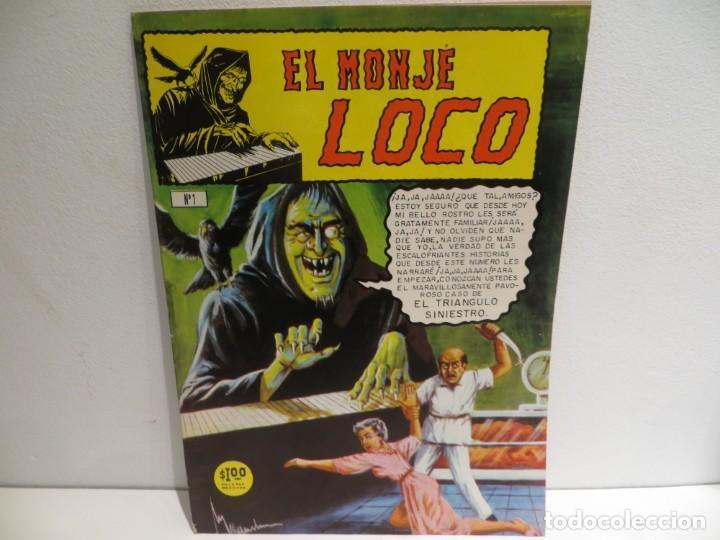 EL MONJE LOCO NUMERO 1 DE EDIT.MINA 15 JULIO DEL 1967 MUY BUEN ESTADO,RARO (Tebeos y Cómics - Números 1)