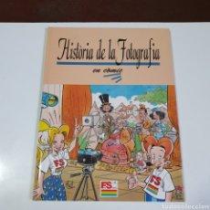 Tebeos: LIBRO, HISTÒRIA DE LA FOTOGRAFIA, EN CÓMIC.. Lote 263175825