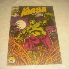 Livros de Banda Desenhada: LA MASA, EL INCREIBLE HULK N. 1 . FORUM. Lote 263280125