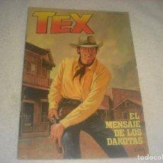 Tebeos: TEX N. 1 , EL MENSAJE DE LOS DAKOTAS .. Lote 263942745