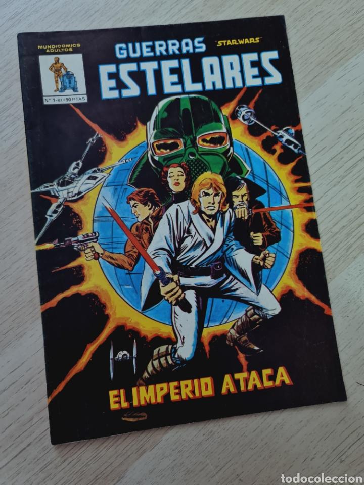 CASI EXCELENTE ESTADO GUERRAS ESTELARES 1 STAR WARS MUNDI COMICS VERTICE (Tebeos y Cómics - Números 1)