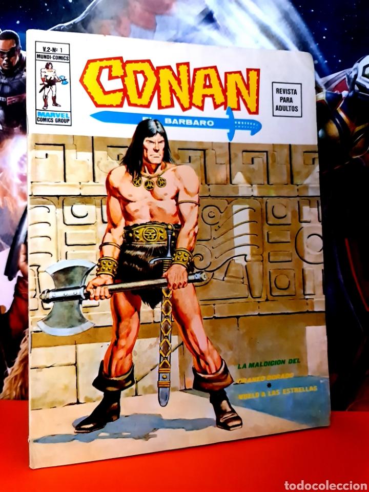 CASI EXCELENTE ESTADO CONAN 1 VOL II MUNDI COMICS MARVEL EDICIONES VERTICE (Tebeos y Cómics - Números 1)