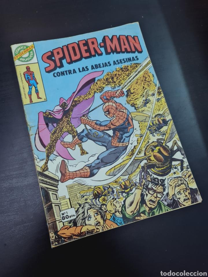 SPIDER-MAN 1 COMICS BRUGUERA NORMAL ESTADO SE VE RESTAURADO VER FOTOS SPIDERMAN (Tebeos y Cómics - Números 1)