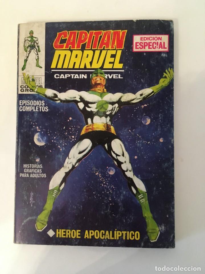 CAPITAN MARVEL - HEROE APOCALIPTICO Nº 1 (VERTICE TACO 1969 - MARVEL COMICS GROUP) (Tebeos y Cómics - Números 1)