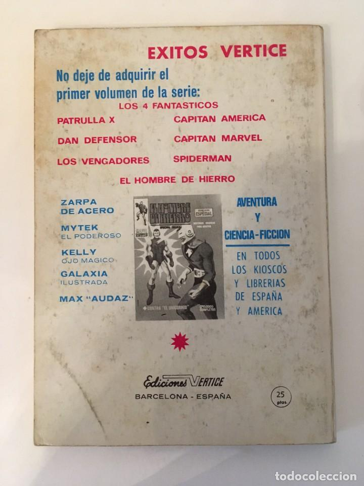 Tebeos: CAPITAN MARVEL - HEROE APOCALIPTICO Nº 1 (VERTICE TACO 1969 - MARVEL COMICS GROUP) - Foto 2 - 268776084