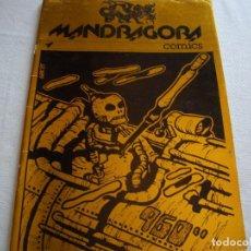 Tebeos: MANDRAGORA COMICS N. 1 - RARO UNICO MONTAGUD 1981. Lote 268916869