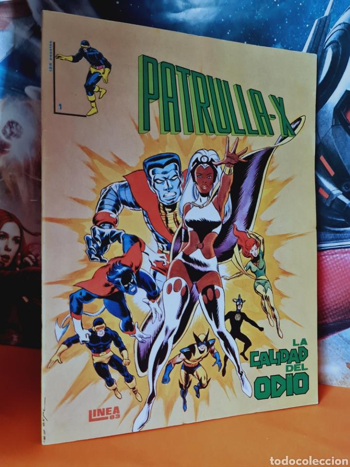 EXCELENTE ESTADO PATRULLA-X 1 LINEA 83 SURCO VERTICE (Tebeos y Cómics - Números 1)