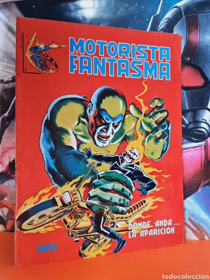 MUY BUEN ESTADO MOTORISTA FANTASMA 1 LINEA 83 SURCO VERTICE (Tebeos y Cómics - Números 1)