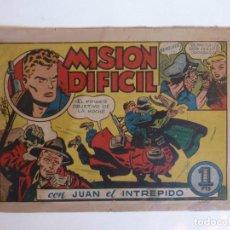 Giornalini: JUAN EL INTREPIDO Nº 1 BRUGUERA 1947. Lote 261924380