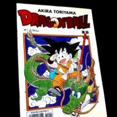 Tebeos: DE KIOSCO DRAGON BALL 1 AKIRA TORIYAMA COMICS PLANETA SERIE AMARILLA. Lote 273628883