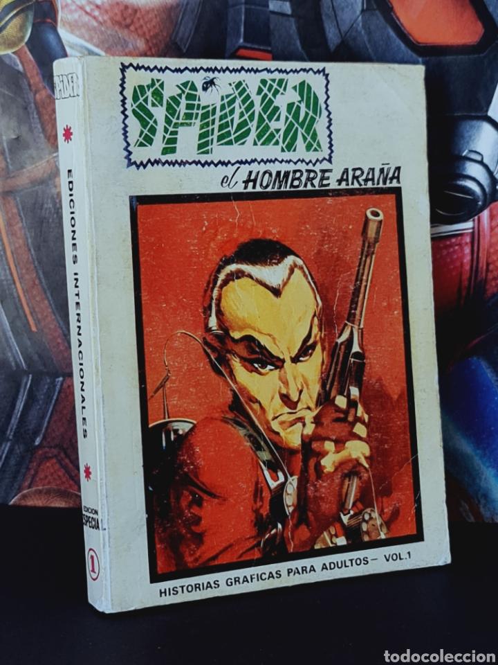 MUY BUEN ESTADO SPIDER 1 TOMO TACO EDICION ESPECIAL INTERNACIONALES VERTICE (Tebeos y Cómics - Números 1)