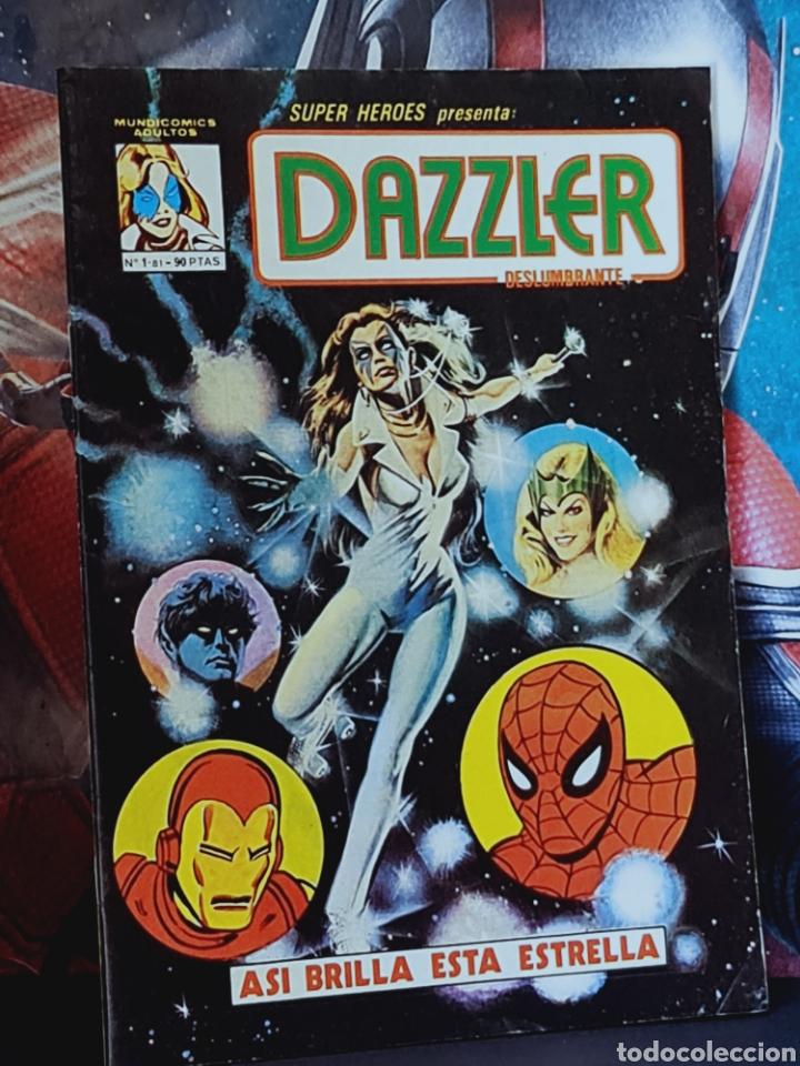 EXCELENTE ESTADO DAZZLER 1 MUNDICOMICS MARVEL EDICIONES VERTICE (Tebeos y Cómics - Números 1)