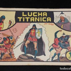 BDs: EL GUERRERO DEL ANTIFAZ / Nº 3 / LUCHA TITÁNICA / 1 PESETA / BASTANTE BUEN ESTADO / VER FOTOS. Lote 276061248
