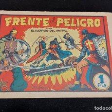 BDs: EL GUERRERO DEL ANTIFAZ / Nº 5 / FRENTE AL PELIGRO / 1 PESETA / BASTANTE BUEN ESTADO / VER FOTOS. Lote 276069193