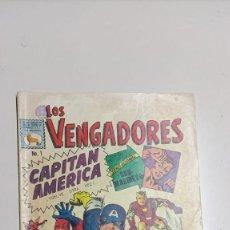 BDs: LOS VENGADORES Nº 1, 15 DE SEPTIEMBRE DE 1965 EDICIONES LA PRENSA. Lote 276779968