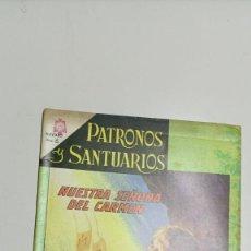 Tebeos: PATRONOS Y SANTUARIOS Nº 1, 1 DE JULIO DE 1966 EDITORIAL NOVARO. Lote 276782828
