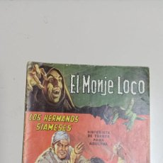 Tebeos: EL MONJE LOCO NÚMEROS 1 Y 2, DICIEMBRE 1967 EDITORIAL TEMPORAE. Lote 276784083