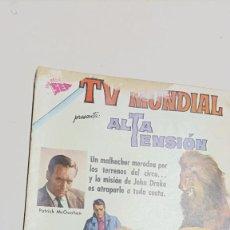 Tebeos: TV MUNDIAL Nº 1, 1 DE SEPTIEMBRE DE 1962 EDITORIAL NOVARO. Lote 276789188