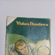 Tebeos: VIDAS ILUSTRES Nº 1, 1 DE FEBRERO DE 1956 EDICIONES RECREATIVAS - NOVARO -. Lote 276790208