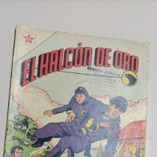 Tebeos: EL HALCÓN DE ORO Nº 1, 1 DE FEBRERO DE 1958 EDICIONES RECREATIVAS - NOVARO -. Lote 276790678