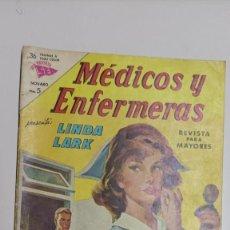 Tebeos: MÉDICOS Y ENFERMERAS Nº 1 LINDA LARK, 1 DE NOVIEMBRE DE 1963 EDITORIAL NOVARO. Lote 276791843