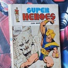 Tebeos: BUEN ESTADO SUPER HEROES 1 TACO 25PTS MARVEL EDICIONES VERTICE. Lote 276985753
